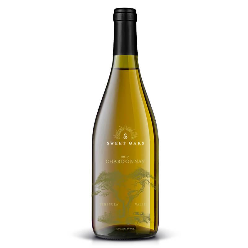 2017 Chardonnay - Sweet Oaks Wine