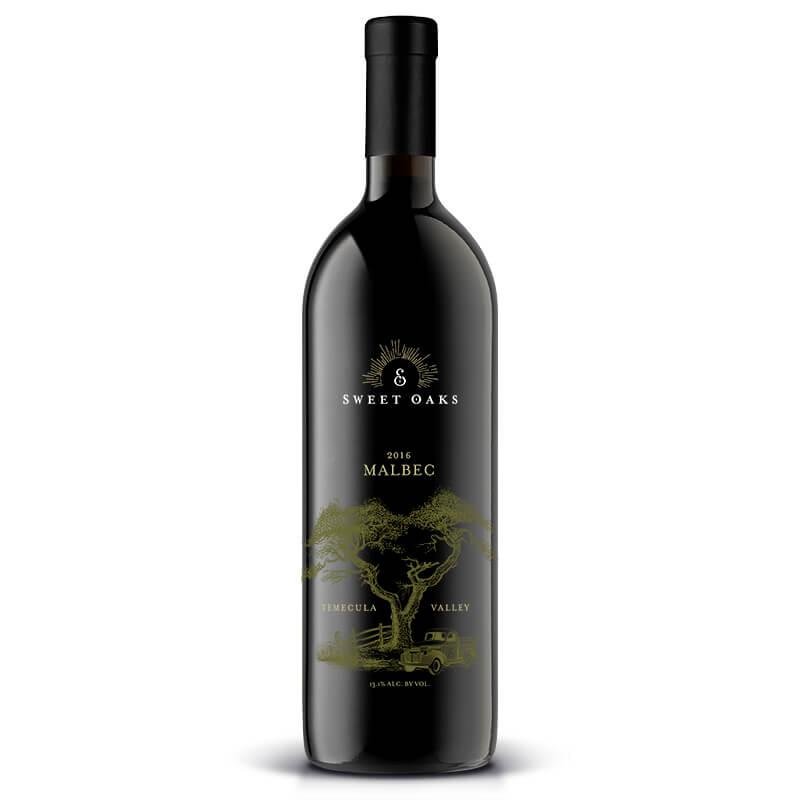 2016 Malbec - Sweet Oaks Wine - Temecula, CA