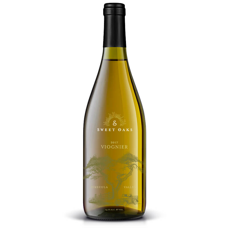 2017 Viognier - Sweet Oaks Wine