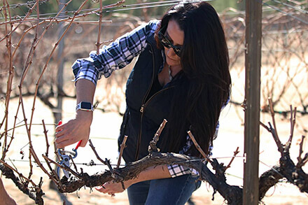 Heather Petersen - Sweet Oaks Winemaker