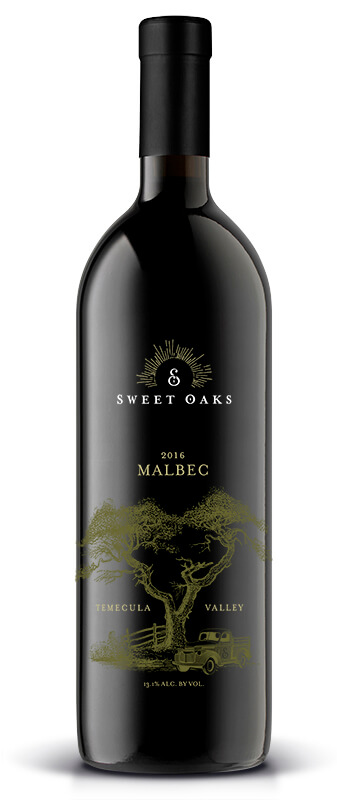 Sweet Oaks Wine | 2016 Malbec