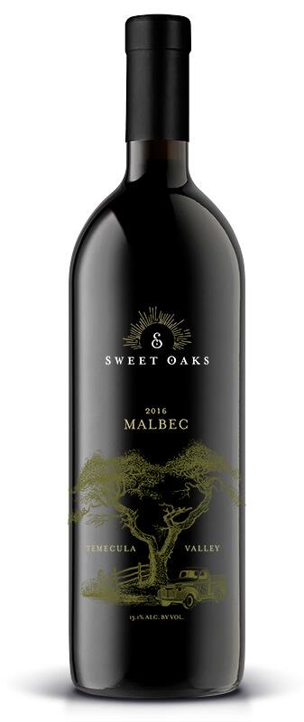 Sweet Oaks Wine | 2016 Malbec
