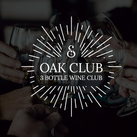 Oak Club | 3 Bottle Wine Club