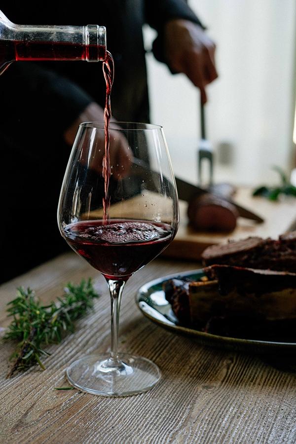 Best Temp to drink wine