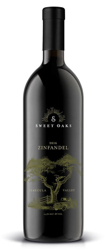 Sweet Oaks Wine - Red Wine - 2016 Zinfandel