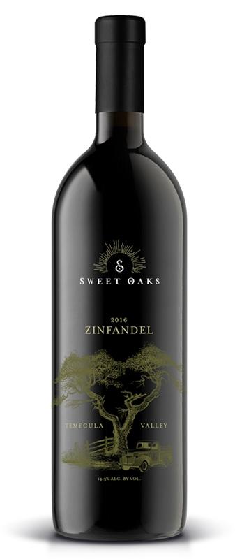 Sweet Oaks Wine - Red Wine - 2016 Zinfandel