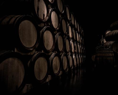 Wine Barrels - Storing Wine