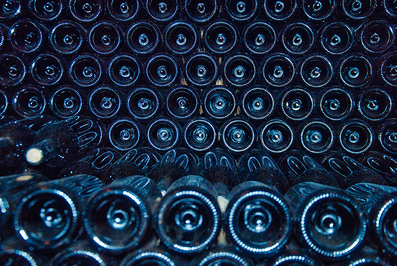 Storing wine without a cellar